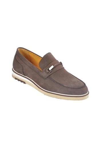 Dr.Flexer Dr.Flexer 170001 Ki Deri Erkek Loafer Ayakkabı Kahve